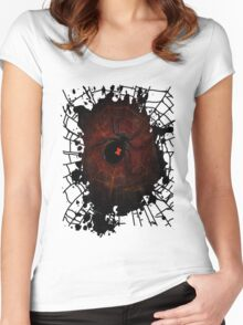 Black Widow (Signature Design) Women's Fitted Scoop T-Shirt