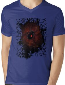 Black Widow (Signature Design) Mens V-Neck T-Shirt