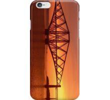 Forth Rail Bridge (Large) Orange Sunrise.   iPhone Case/Skin
