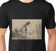 Looking About, Cheetah, Maasai Mara, Kenya Unisex T-Shirt