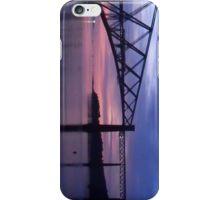 Forth Rail Bridge (Large) Purple Sunrise iPhone Case/Skin