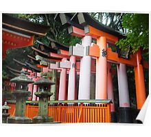 Torii Gates, Fushimi Inari Poster
