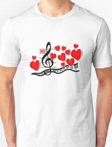 Music is My Love Unisex T-Shirt