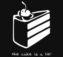The Cake is a Lie by Tainá Ribeiro