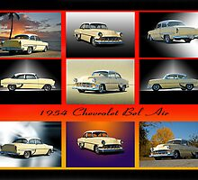 1954 Chevrolet Bel Air Collection I by DaveKoontz
