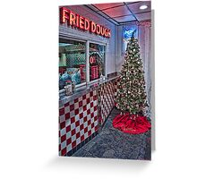Maine Beach Food Christmas Greeting Card