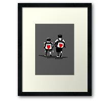 HIS&HERS.. Framed Print