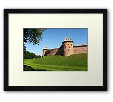 Fortress wall Framed Print