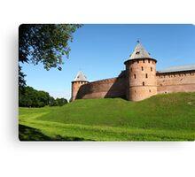 Fortress wall Canvas Print