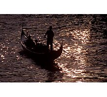 Gondola Photographic Print