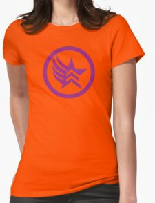 Mixed Alignment  Womens Fitted T-Shirt
