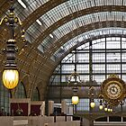 Musée d'Orsay Clock by Roger McNally