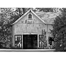 Country - Barn Country maintenance Photographic Print