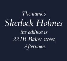 The Names Sherlock Holmes... by SamanthaMirosch