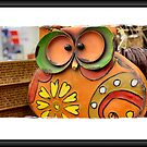 Orange Owl by Keala