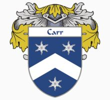 Carr Coat of Arms/Family Crest by William Martin