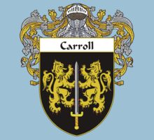 Carroll Coat of Arms/Family Crest Kids Clothes