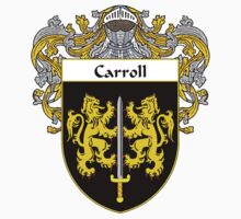 Carroll Coat of Arms/Family Crest by William Martin
