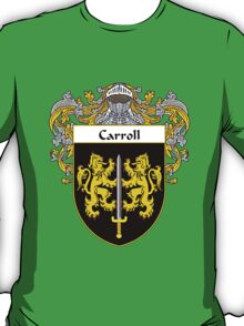 Carroll Coat of Arms/Family Crest T-Shirt