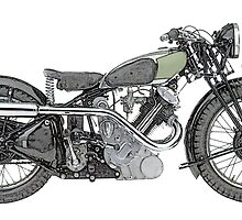 1935 Panther Motorcycle by surgedesigns