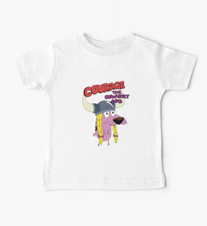 courage the cowardly dog Baby Tee