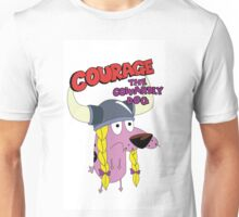 courage the cowardly dog Unisex T-Shirt