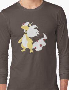 Mega Ampharos Minimalist Long Sleeve T-Shirt