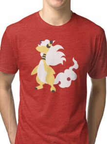 Mega Ampharos Minimalist Tri-blend T-Shirt