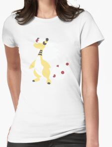 Mega Ampharos Minimalist Womens Fitted T-Shirt