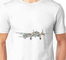 Junkers Ju 88 Bomber Airplane Unisex T-Shirt