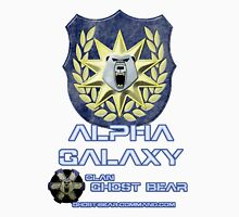 Clan Ghost Bear Alpha Galaxy Unisex T-Shirt