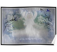 MIDNIGHT ANGEL OF PEACE/ for all you wonderful artist friends Poster