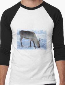Reindeer Men's Baseball ¾ T-Shirt