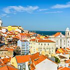 Lisbon Downtown by Michael Abid