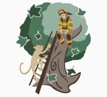 Stuck in a Tree Kids Tee