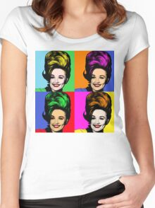 Dolly Parton pop art. Nashville Country Music Women's Fitted Scoop T-Shirt