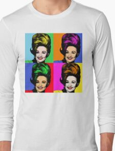 Dolly Parton pop art. Nashville Country Music Long Sleeve T-Shirt