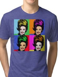 Dolly Parton pop art. Nashville Country Music Tri-blend T-Shirt