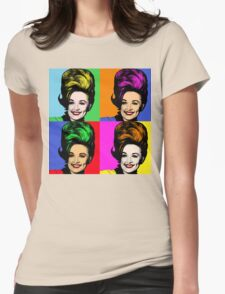 Dolly Parton pop art. Nashville Country Music Womens Fitted T-Shirt