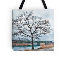 Above the Edge of Tide Tote Bag