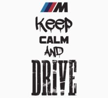 Keep Calm And Drive Kids Clothes