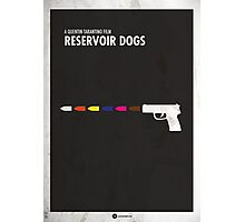 Reservoir Dogs Minimal Film Poster Photographic Print