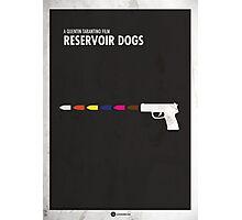 Reservoir Dogs Minimal Film Poster Photographic Print