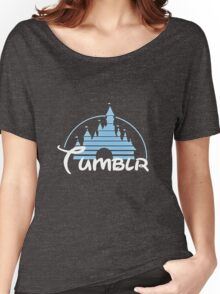 Tumblr Castle Women's Relaxed Fit T-Shirt