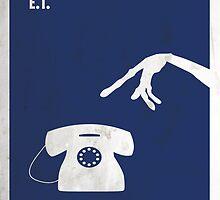 ET Minimal Film Poster by quimmirabet