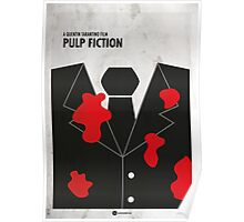 Pulp Fiction Minimal Film Poster Poster