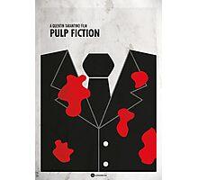 Pulp Fiction Minimal Film Poster Photographic Print