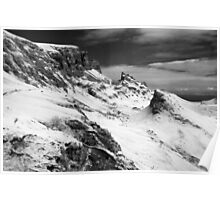 Quiraing- Infrared Poster