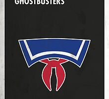 Ghostbusters Minimal Film Poster by quimmirabet