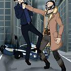 Bane & Blake by KumoriDragon